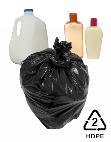 Number 2 Plastic HDPE