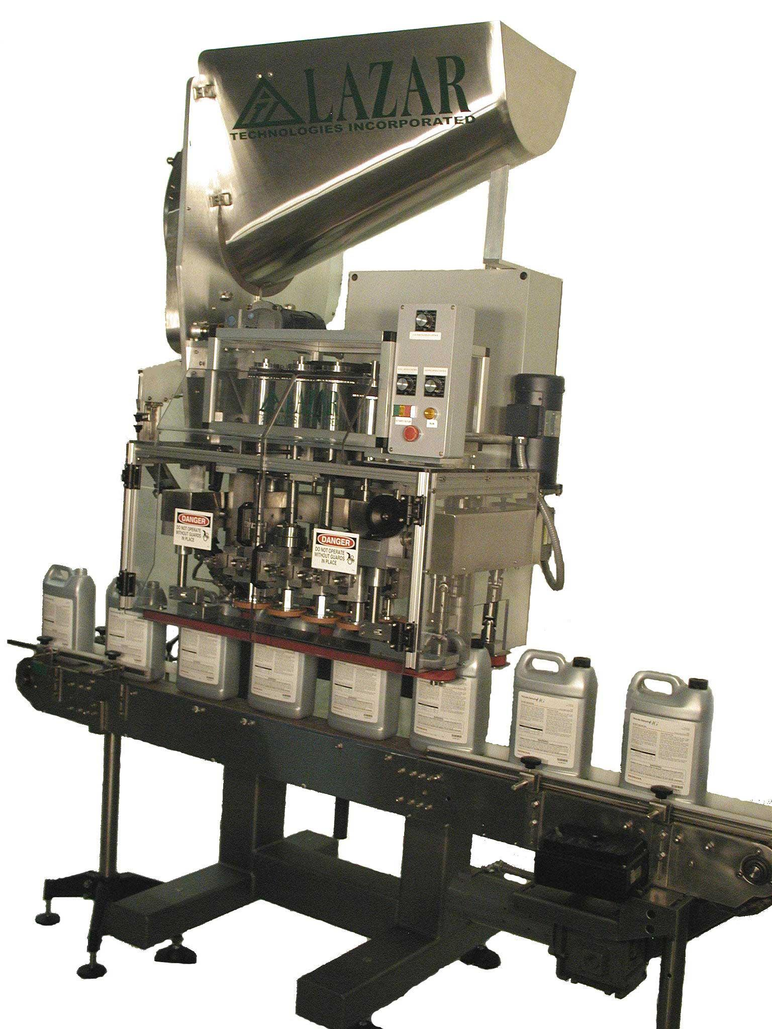 Fully Automatic Capper with Conveyor